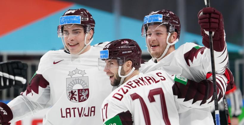 Латвия сенсационно обыграла Канаду в стартовом матче ЧМ2021