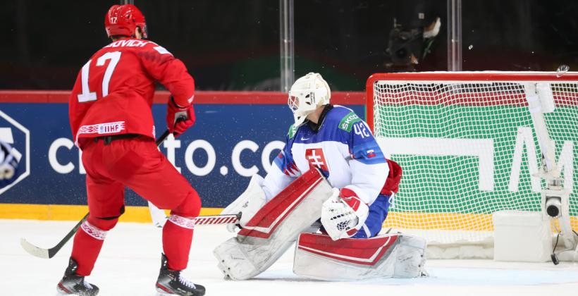 Егор Шарангович: «Повелся на провокацию со стороны словацких хоккеистов»