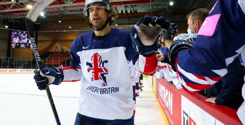 Нападающий сборной Великобритании: «Классная победа, здорово, что нам удалось обыграть сборную Беларуси»