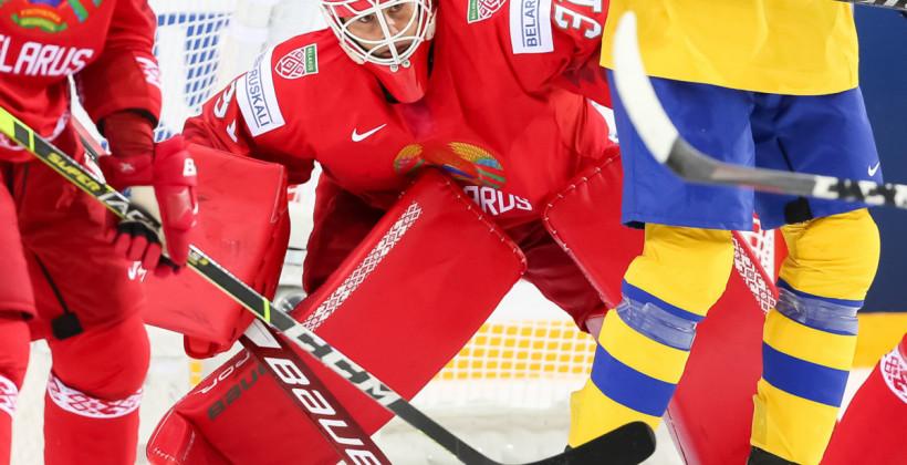 Дэнни Тэйлор признан лучшим игроком в составе сборной Беларуси в матче против Швеции