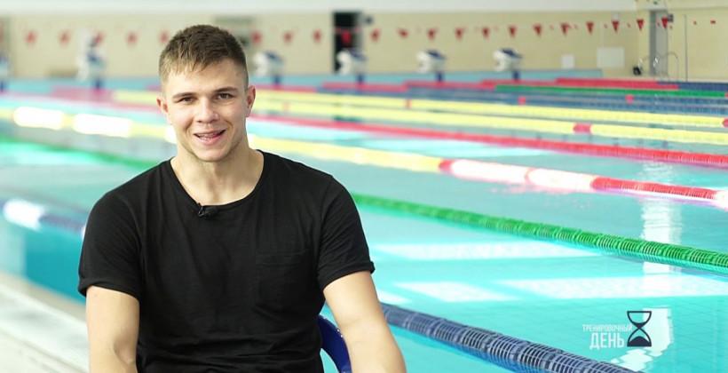 Стаселович занял шестое место на дистанции 50 метров на спине, установив личный рекорд