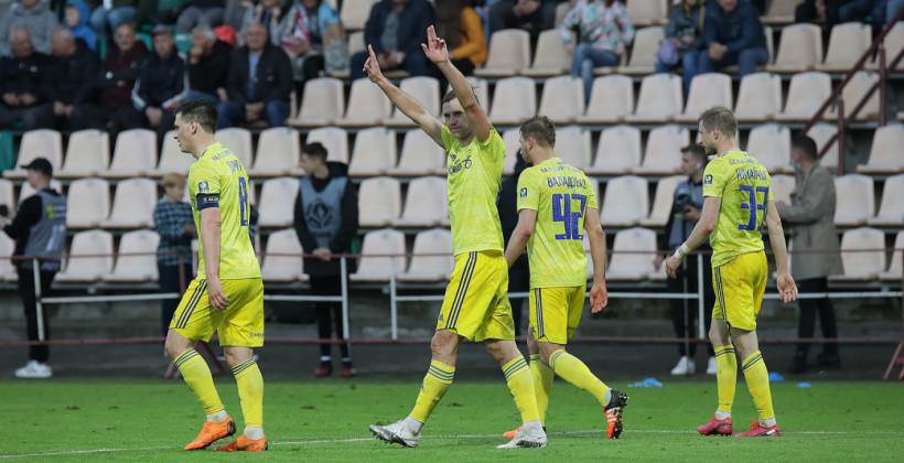 БАТЭ во втором раунде квалификации Лиги конференций сыграет против Динамо-Батуми