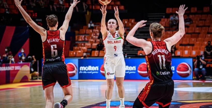 Сборная Беларуси уступила Бельгии в матче за третье место