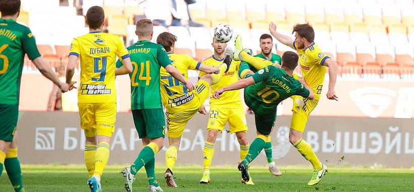 Умаров и Скавыш — в старте БАТЭ на матч против Немана