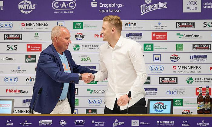 Алексей Шпилевский официально представлен тренером Эрцгебирге