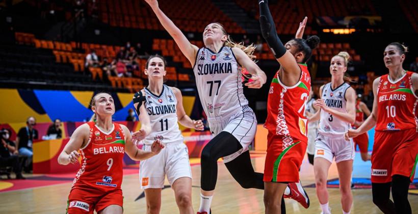 Сборная Беларуси проиграла Словакии в матче группового этапа Евро-2021