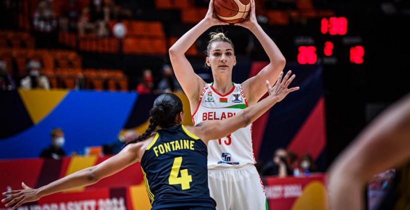 Женская сборная Беларуси вышла в полуфинал Евробаскета-2021