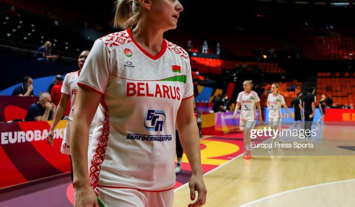 Сборная Беларуси уступила Франции в полуфинале женского Евробаскета