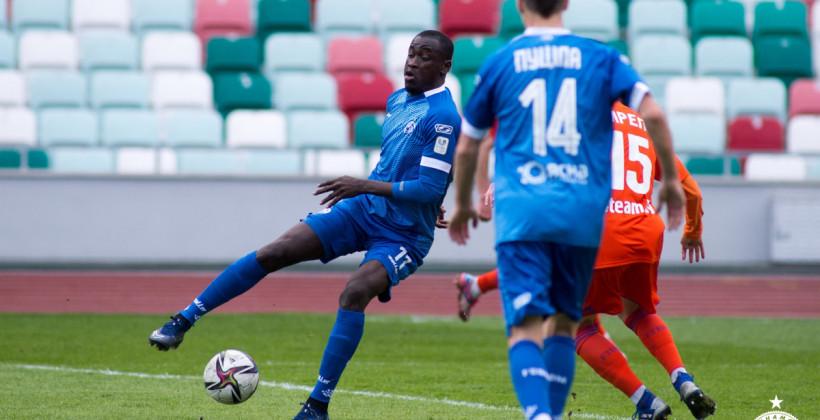 Аблай Мбенг — в старте минского Динамо в матче против речицкого Спутника