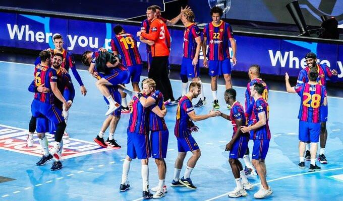 Барселона разгромила Ольборг и выиграла гандбольную Лигу чемпионов