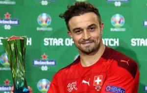 Джердан Шакири стал лучшим игроком матча Швейцария — Турция