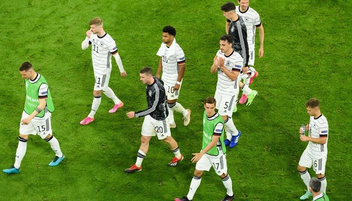 Сборная Германии впервые за все розыгрыши Евро уступила с стартовом матче турнира