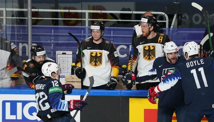 Сборная США завоевала бронзовую медаль чемпионата мира по хоккею