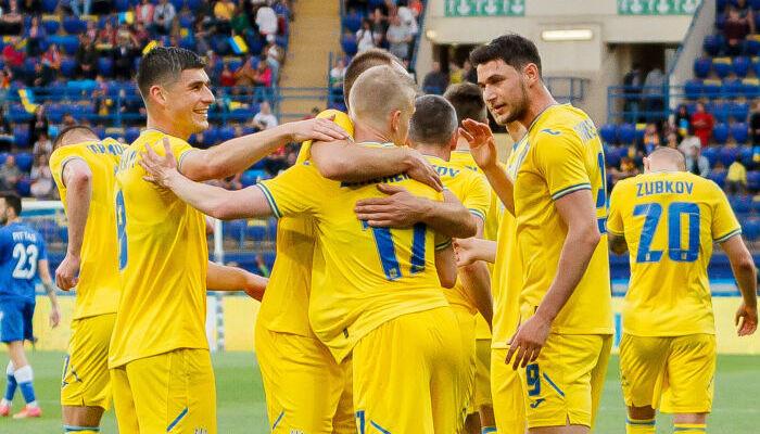 Украина не оставила шансов Кипру в товарищеском матче