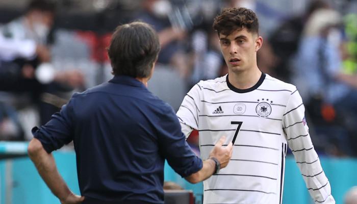 Хаверц — самый молодой автор гола в истории сборной Германии на чемпионатах Европы
