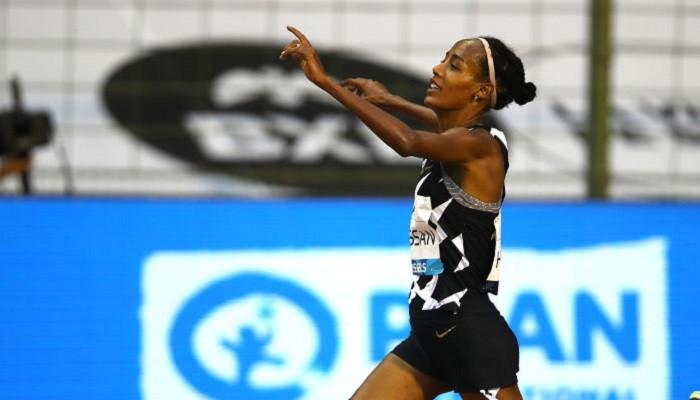 Сифан Хасса побила мировой рекорд в забеге на 10 000 метров