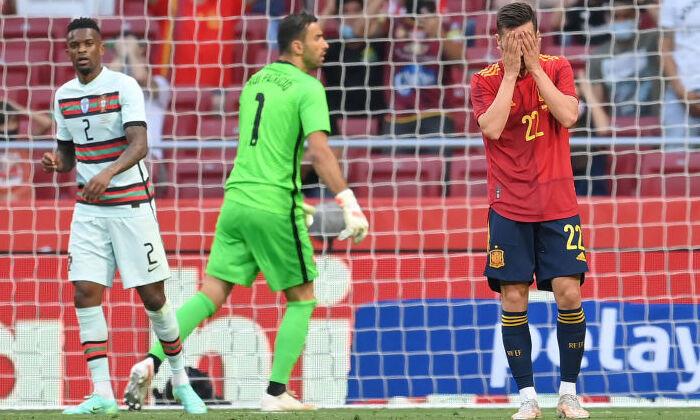 Испания сыграла вничью с Португалией в товарищеском матче