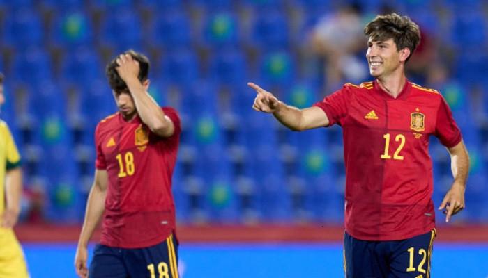Молодёжная сборная Испании разгромила взрослую команду Литвы