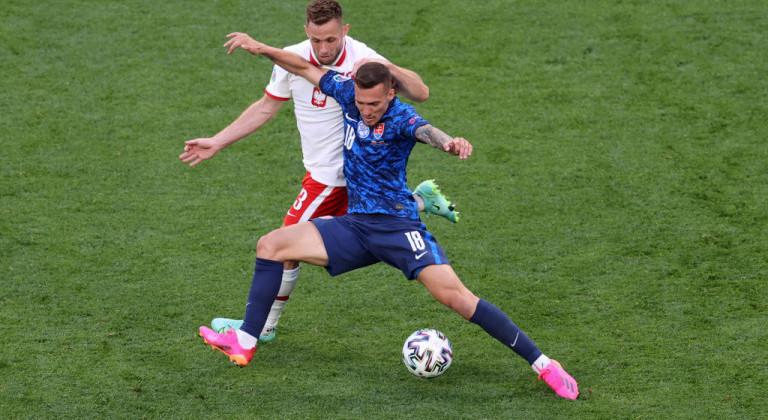 Польша оказалась слабее Словакии на Евро-2020