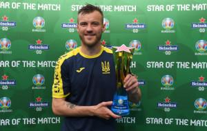Ярмоленко — лучший игрок матча Украины и Северной Македонии