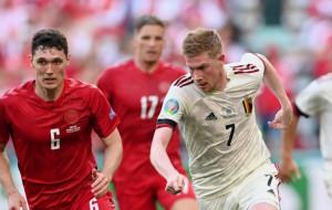 Бельгия в концовке дожала Данию и вышла в плей-офф Евро-2020