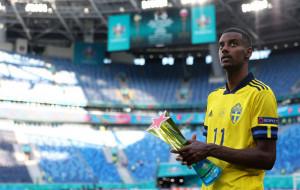 Александер Исак стал лучшим игроком матча Швеция — Словакия
