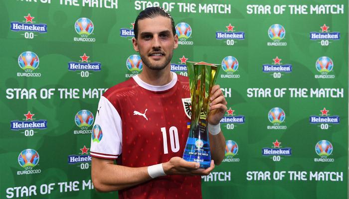 Гриллитш — лучший игрок матча Австрия — Украина