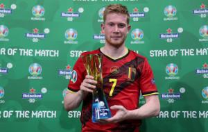 Де Брейне стал лучшим игроком матча Бельгия — Финляндия