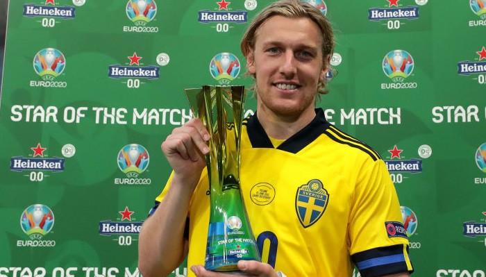 Эмиль Форсберг стал лучшим игроком матча Швеция — Польша