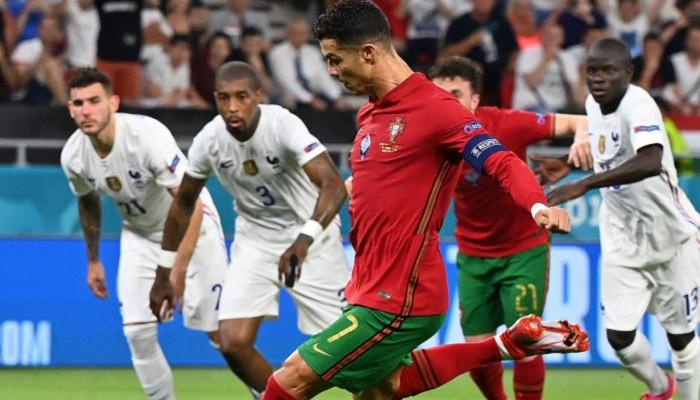 Франция заняла первое место в группе F, сыграв вничью с Португалией