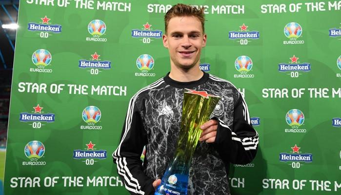 Йозуа Киммих стал лучшим игроком матча Германия — Венгрия