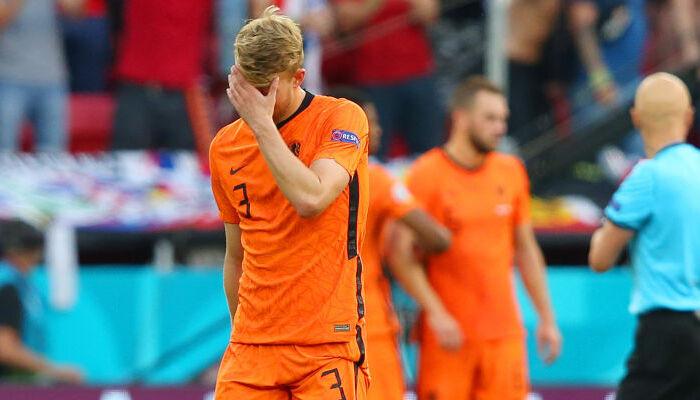 Де Лигт: «Ощущения ужасные. По сути, мы проиграли матч из-за того, что сделал я»