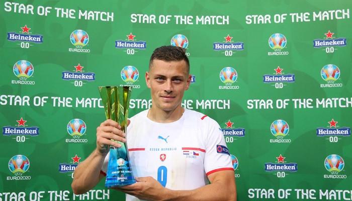 Холеш — лучший игрок матча Чехия — Нидерланды