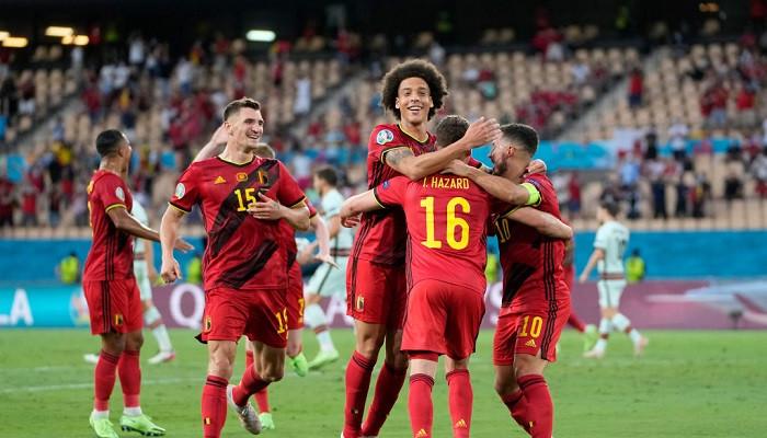 Бельгия минимально одолела Португалию в 1/8 финала Евро-2020