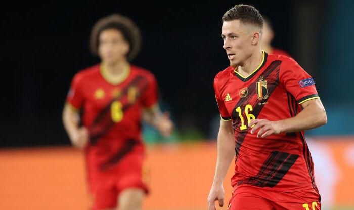 Торган Азар — лучший игрок матча Бельгия — Португалия