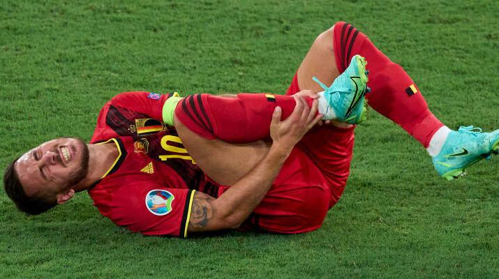 Эден Азар травмировался в матче против Португалии