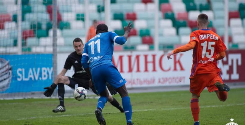 Минское Динамо уничтожило Спутник, забив пять безответных мячей