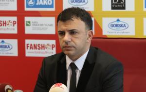 Игор Ангеловски покинул пост тренера сборной Северной Македонии