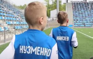 Игры «на вырост». Академия минского Динамо (видео)