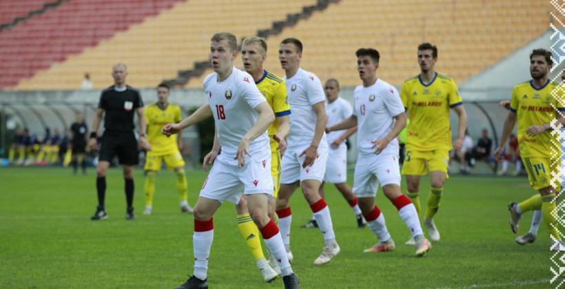 Молодежная сборная Беларуси оказалась сильнее БАТЭ в товарищеском матче