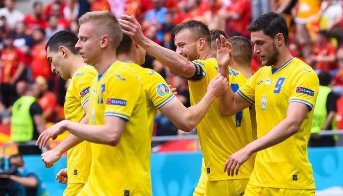 Украина в дополнительное время обыграла Швецию в 1/8 финала Евро-2020