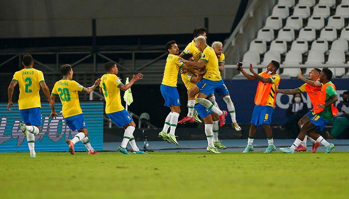 Бразилия сыграла вничью с Эквадором, Венесуэла уступила Перу на Копа Америка