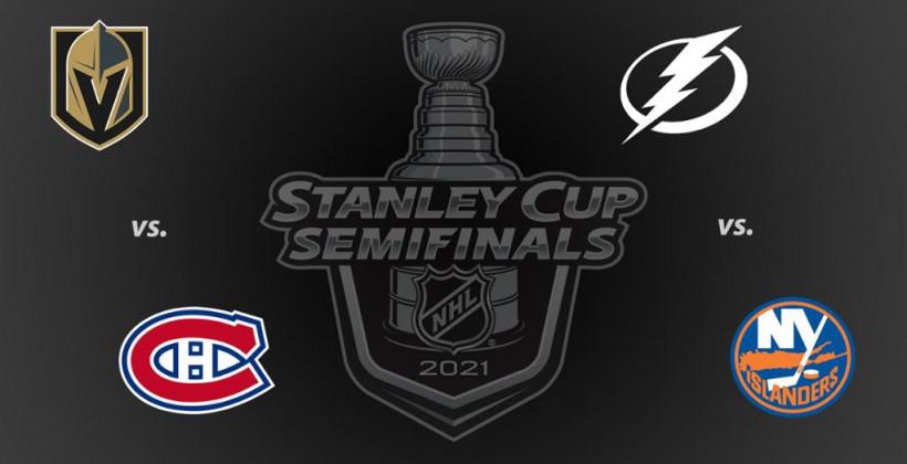 Определились полуфинальные пары плей-офф НХЛ