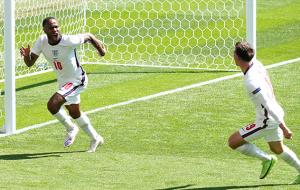 Гол Стерлинга помог сборной Англии минимально обыграть Хорватию на Уэмбли
