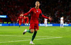Криштиану Роналду вышел на матч своего пятого чемпионата Европы