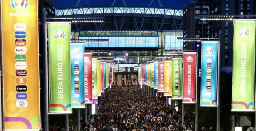 ЕВРО-2020: Мир вокруг Уэмбли