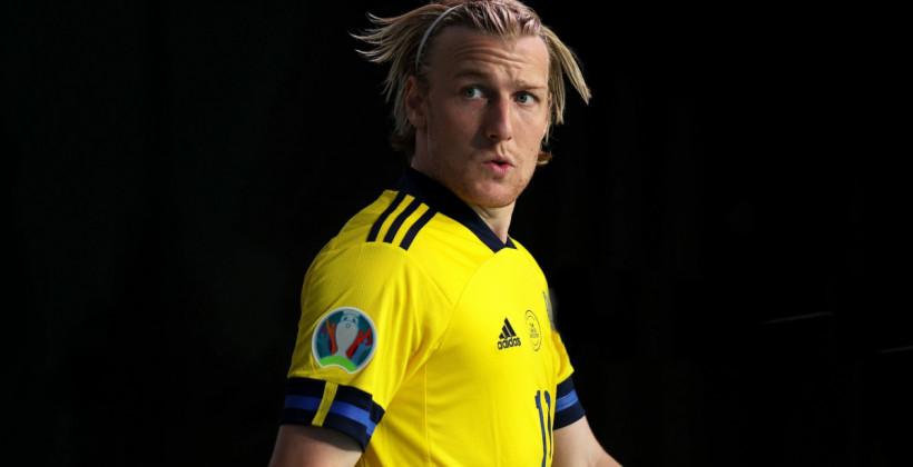 Эмиль Форсберг сможет помочь Швеции в матче с Украиной