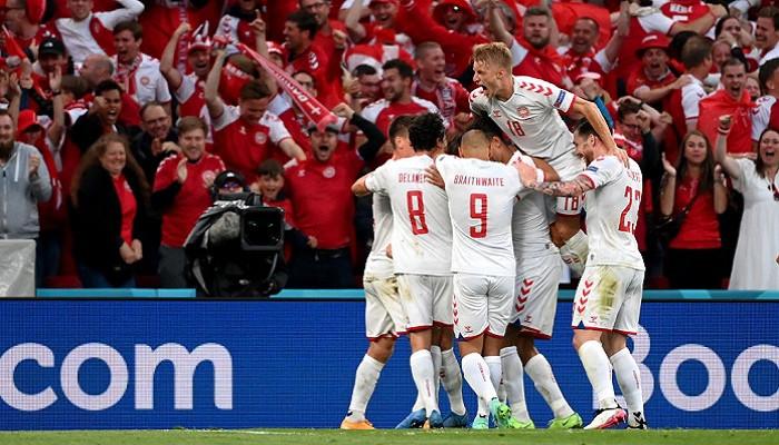 Дания разгромила Россию и вышла в плей-офф
