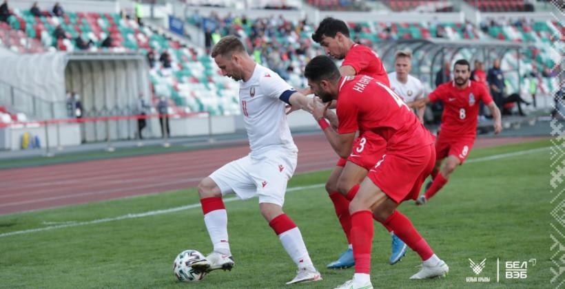 Сборная Беларуси дома уступила Азербайджану в товарищеском матче