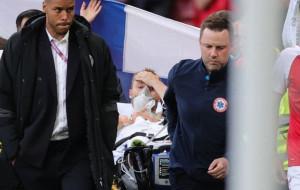 Кристиан Эриксен потерял сознание в матче Дании и Финляндии